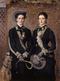 The Twins, Kate and Grace Hoare, by Millais