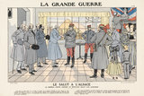 Greetings to Alsace, General Joffre, La Grande Guerre