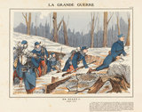 Advance !! (January 1915), La Grande Guerre