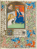 The Annunciation, Besancon Book of Hours