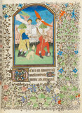 Annunciation to the Shepherds, Besancon Book of Hours