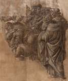 Cartoon of the 'Adoration of the Magi', by Botticelli