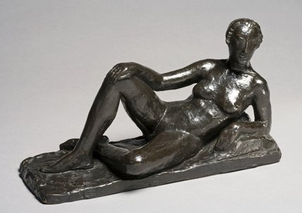Reclining Female Nude, by Charles Despiau