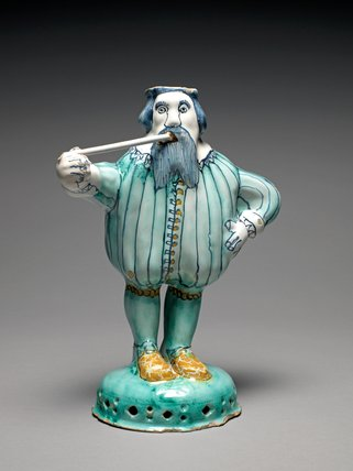 Figure of Nobody, English Delftware