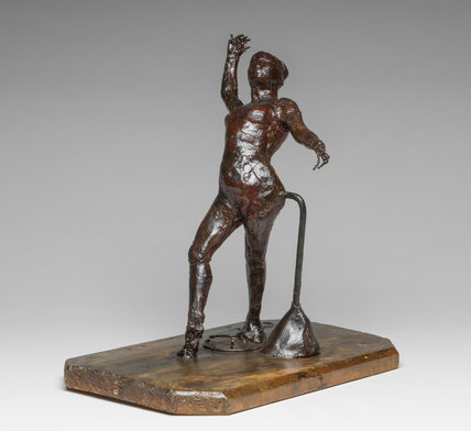 Dancer with Tambourine, by Degas