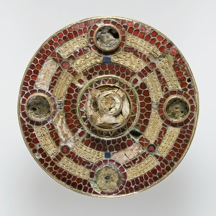 Anglo saxon gold and garnet brooch at fitzwilliam museum prints - Cabinet anglo saxon paris ...