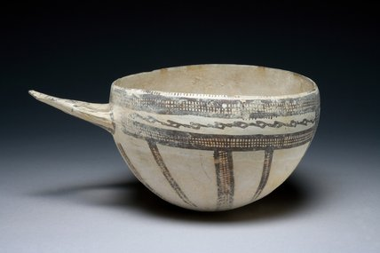 Cypriot slipware patterned bowl