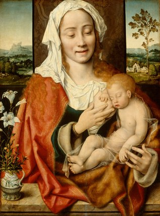 Virgin and Child, by Joos van Cleve