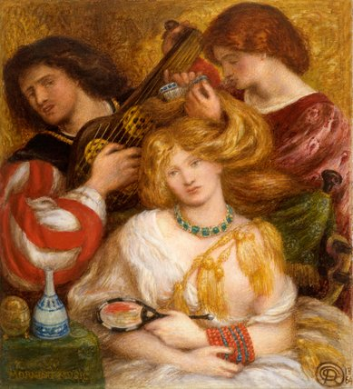 Morning Music, by Rossetti