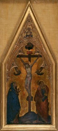 The Crucifixion, by Naddo Ceccarelli (attributed)