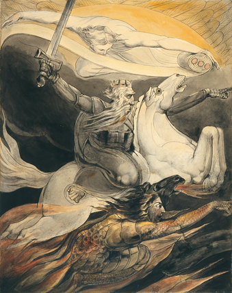 Death on a Pale Horse, by William Blake