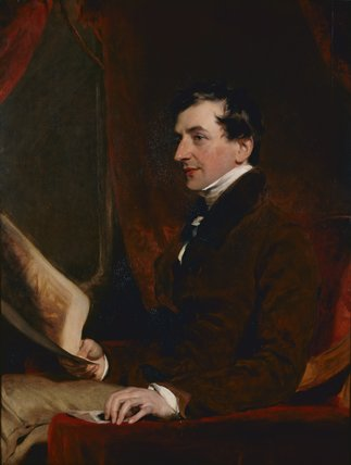 Portrait of Samuel Woodburn, by Sir Thomas Lawrence