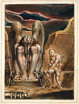 America, A Prophecy, by William Blake