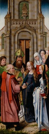 The Marriage of the Virgin, French School