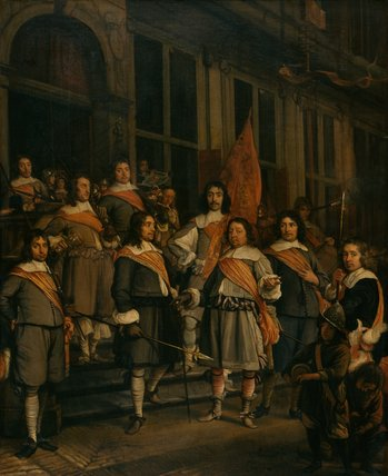 Company of the Hague Arquebusiers, by M. Lengele