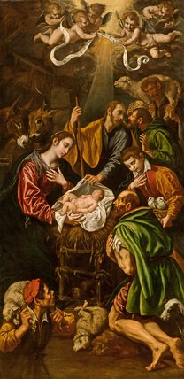 The Adoration of the Shepherds, by Luis Tristan de Escamilla