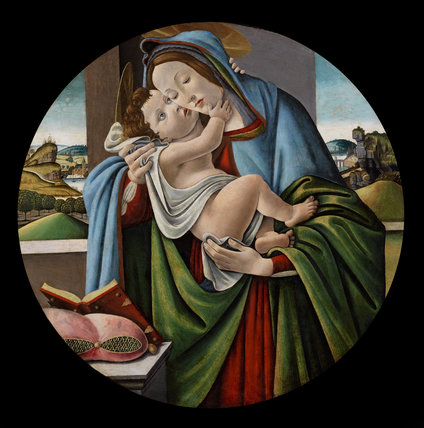 Virgin and Child, studio of Botticelli