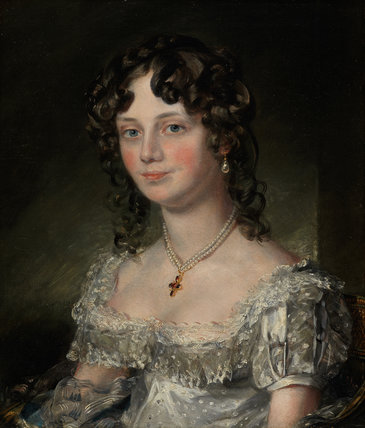 Mrs Mary Fisher, by Constable