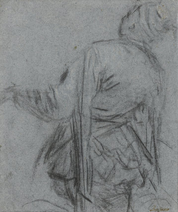 Study of a man-servant, by Jacopo Bassano
