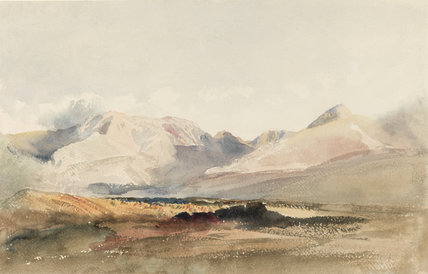 A view in the Lake District, by Peter De Wint