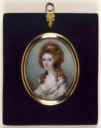 Mrs Anne Catherine Fitzgerald, by Horace Hone