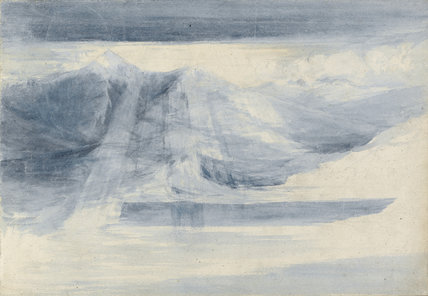 Coniston Old Man, by Turner (attrib)
