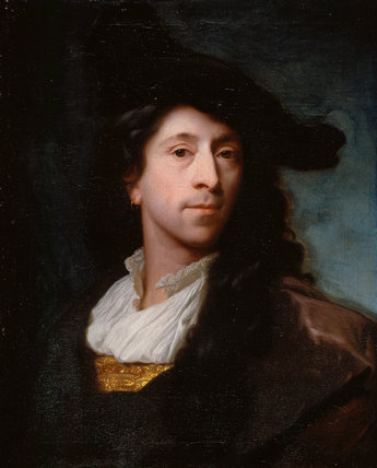 Self-portrait, by Godfried Schalcken