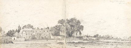 Bristol House and Terrace, by Constable