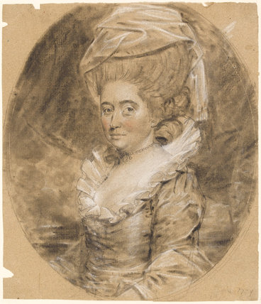 Mrs Robert Cook(e), by John Downman