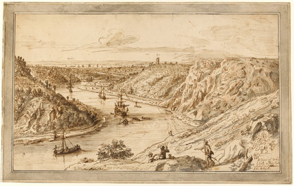 A View of the Avon at Clifton, by Coplestone Warre Bampfylde
