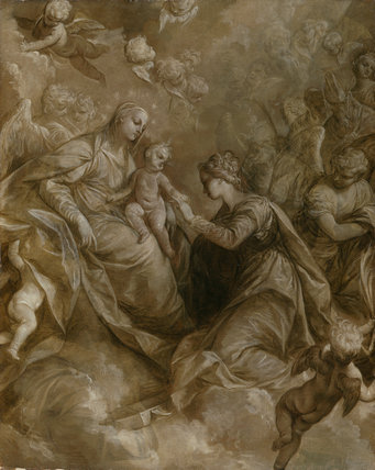 The Mystic Marriage of St Catherine, by Donato Creti