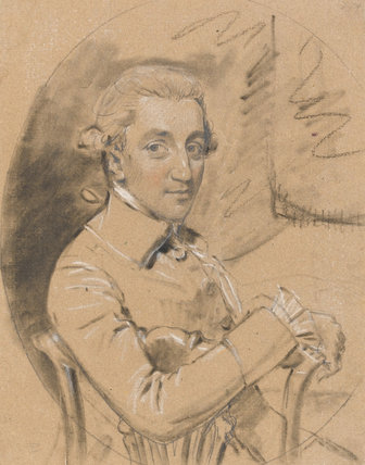 Mr Henry Ley, by John Downman