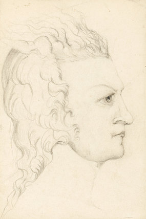 Portrait of the Young William Blake, by Catherine Blake