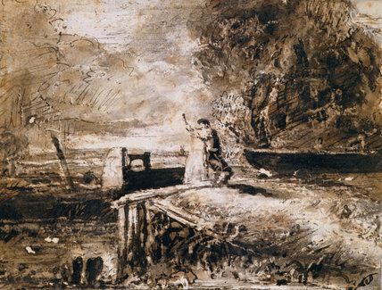 The Lock, by Constable