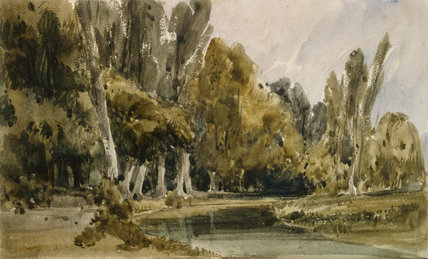 In the Park at Royaumont, by William Callow