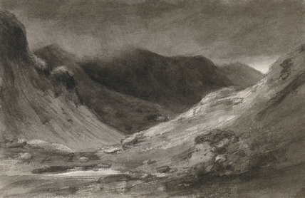 The Vale of Newlands: very stormy afternoon, by Constable