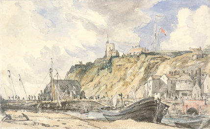 Folkestone. The Harbour, by Constable
