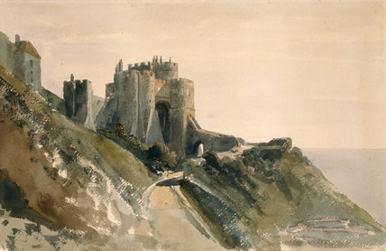 The Constable's Tower, Dover Castle, by De Wint