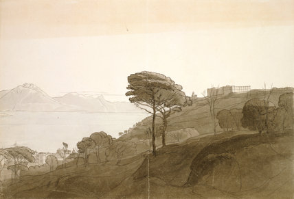 A View Near Naples, by Francis Towne