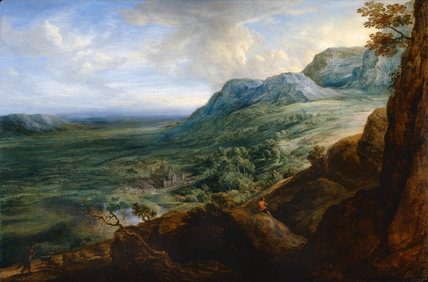 The Escorial from a Foot-Hill of the Guadarrama Mountains, after Rubens