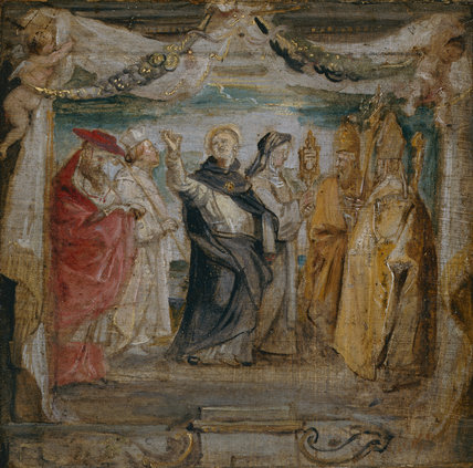 Sketch for The Defenders of the Eucharist, by Rubens