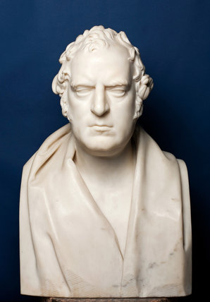 Bust of William Wilkins, by Edward Hodges Baily