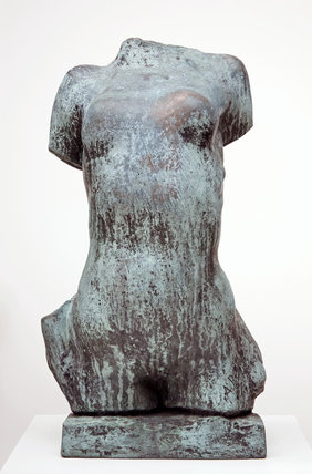 Torse de Jeune Fille Cambree, by Rodin