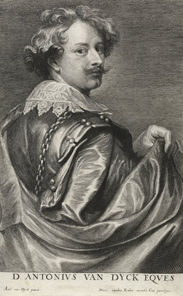Anthony van Dyck, by Lucas Vorsterman