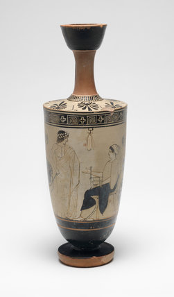Athenian lekythos, by the Diosphos Painter