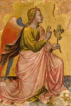 Gabriel from The Annunciation, by Martino di Bartolomeo