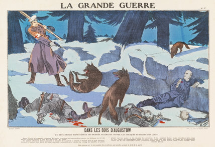 In the woods of Augustow, La Grande Guerre