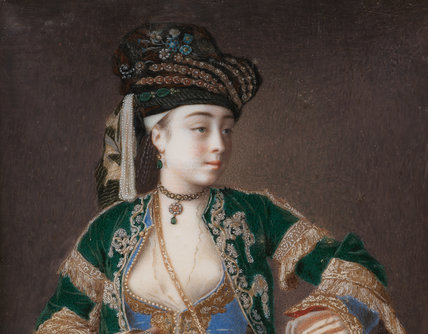 Laura Tarsi, 'a Grecian lady', by Jean Etienne Liotard