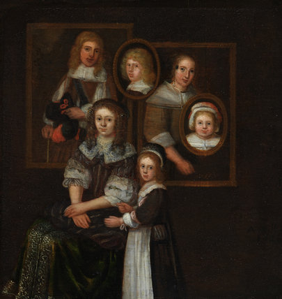 Family group, by Abraham Willaerts