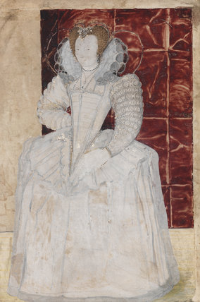Unknown Lady, by Nicholas Hilliard